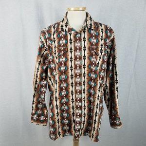 Panhandle Slim Extra Large Vintage Western Shirt